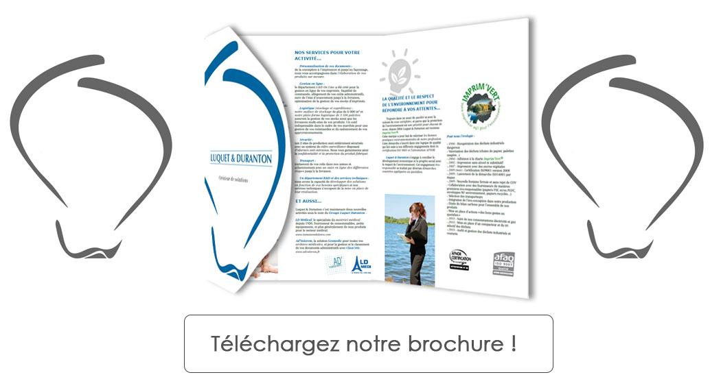 Brochure Luquet et Duranton