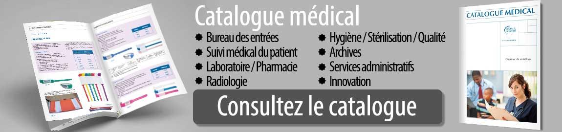 Catalogue papeterie et consommable pour le secteur médical